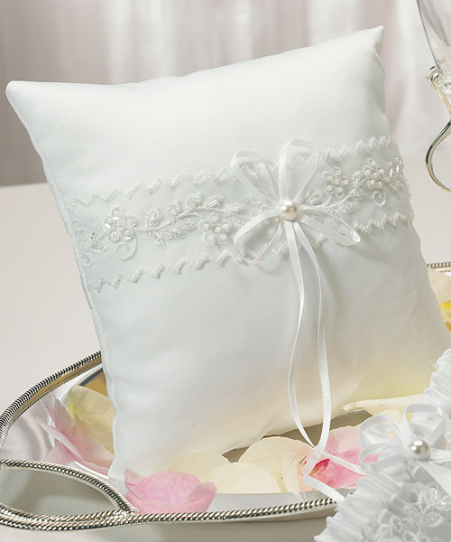 Sweet Art Collection Square Ring Pillow - Click Image to Close