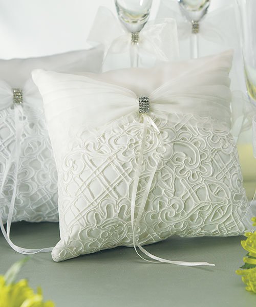 Bridal Tapestry Square Ring Pillow - Click Image to Close