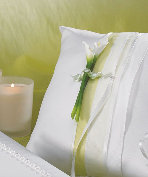 Calla Lily Ring Bearer Pillow