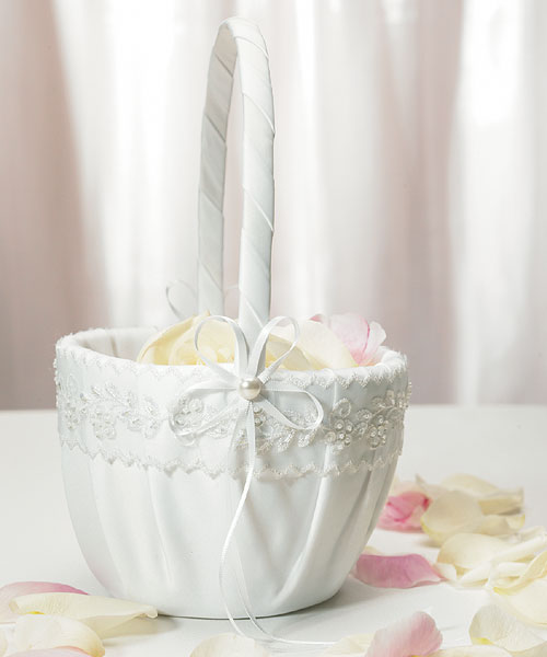 Sweet Art Collection Flower Girl Basket