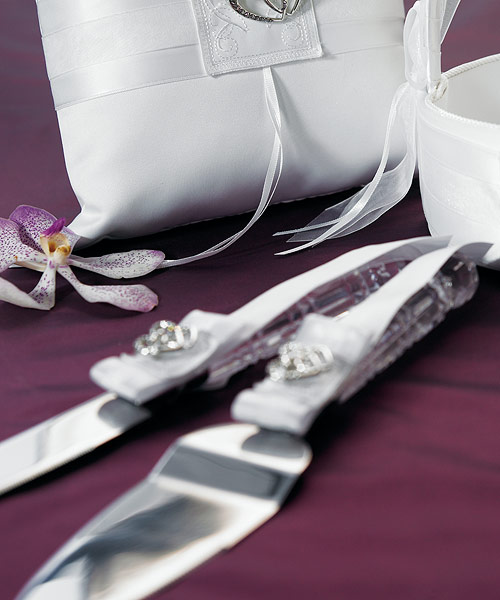Double Heart Cake Serving Set