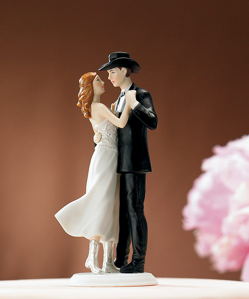 Country Western Wedding Cake Topper Wedding Belle Bridal