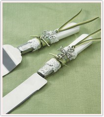 Celtic Charm Wedding Cake Service Set
