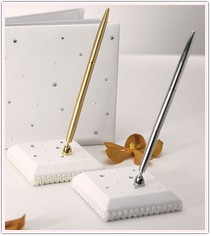 Pearls and Crystals Collection Pen Set