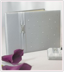 Platinum Wedding Collection Guest Book