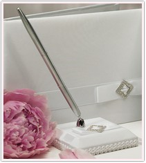 Wedding White Collection Pen Set