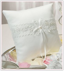 Sweet Art Collection Square Ring Pillow