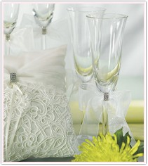Bridal Tapestry Collection Toasting Flutes