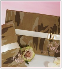 Camouflage Collection Guest Book