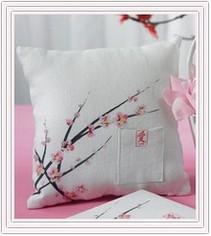 Cherry Blossom Collection Square Ring Pillow